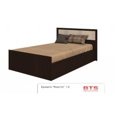 Спальный гарнитур Фиеста кровать (ЛДСП Венге + ЛДСП Сосна лоредо)