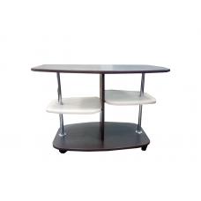 Журнальный стол ЖС-2 (ЛДСП Венге + ЛДСП Дуб млечный, молочный)