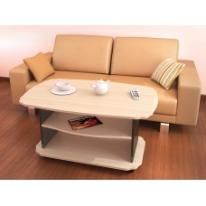 Журнальный стол Консул-2 (ЛДСП Венге + ЛДСП Дуб млечный, молочный)
