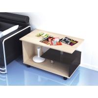 Журнальный стол Консул-5 (ЛДСП Венге + ЛДСП Дуб млечный, молочный)