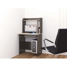 Компьютерный стол Грета-1 (ЛДСП Венге + ЛДСП Дуб млечный, молочный)