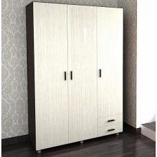 Шкаф 205 без зеркала (ЛДСП Венге + ЛДСП Дуб белфорт)