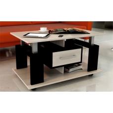 Журнальный стол ЖС-6К (ЛДСП Венге + ЛДСП Дуб млечный, молочный)