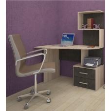 Компьютерный стол СКУ-9 (ЛДСП Дуб сонома + ЛДСП Кантерберри)